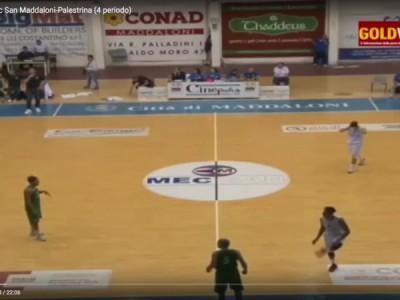 VIDEO. BASKET DNB. Mec San Maddaloni-Palestrina (4 periodo)