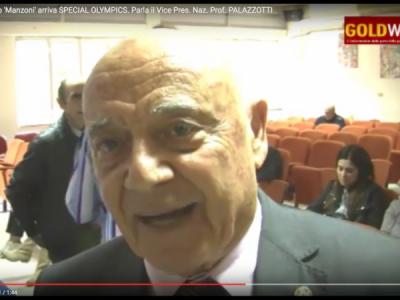 VIDEO. CE. Al liceo 'Manzoni' arriva SPECIAL OLYMPICS. Parla il Vice Presidente Naz. Prof. PALAZZOTTI