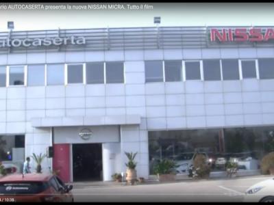 VIDEO. CE. Il concessionario AUTOCASERTA presenta la nuova NISSAN MICRA. Tutto il film con la presenza del Vescovo D'Alise