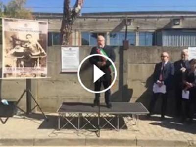 VIDEO| Marcianise. Emozione e commozione per la cerimonia di intitolazione