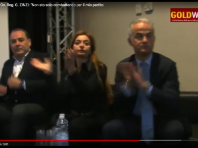 VIDEO. CE. Verso le Politiche. GRIMALDI (FI):