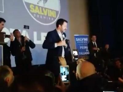 VIDEO. CE. San Marco sold out per Salvini. TUTTO IL DISCORSO del leader della Lega