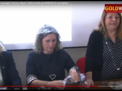 VIDEO. CE. Al L. Manzoni il convegno 'Donne e Sport'. Parla la dott.ssa BONFIGLIO, consigliera Pari Opportunit�