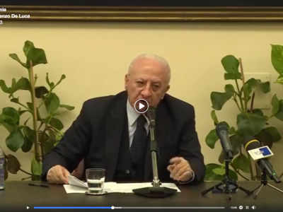 VIDEO. Viabilit� in Campania. DE LUCA: