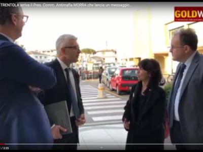 VIDEO. 'Oltre la NOTTE'. A TRENTOLA arriva il Pres. Comm. Antimafia MORRA che lancia un messaggio IMPORTANTE