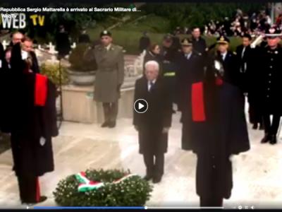 Ore 14. VIDEO. MIGNANO M. TUTTE LE IMMAGINI DEl PRESIDENTE DELLA REPUBBLICA MATTARELLA