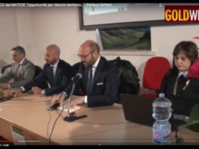 VIDEO. S. Potito S. Al PARCO del MATESE 'Opportunit� per rilancio territorio...'. Parlano Girfatti, Martusciello, Russo...
