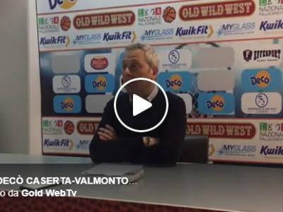 VIDEO. DEC� CASERTA-VALMONTONE. Coach Oldoini: