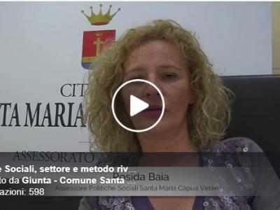 VIDEO. SMCV. L'assessore alle Politiche Sociali e vicesindaco Rosida Baia fa il punto circa l'attivit� svolta dal 2016 ad oggi