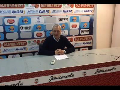 VIDEO. JUVECASERTA. Coach Oldoini: