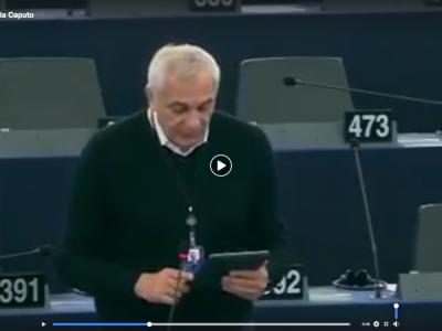 VIDEO. Dal Parlamento Europeo. On. CAPUTO sulla TRASPARENZA DELLE CONDIZIONI DI LAVORO...