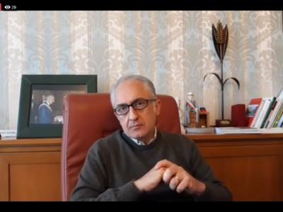 VIDEO. CE. Il messaggio del Sindaco Marino e del Presidente De Florio di Buona Pasqua ai casertani