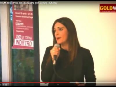 VIDEO. Verso le Europee. Il FILM dell'apertura della campagna elett. dell'On. PICIERNO