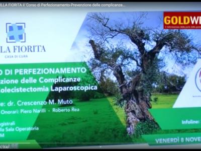 VIDEO. Capua. A VILLA FIORITA 'Corso di perfezionamento - Prevenzione complicanze Colecistectomia...' IL FILM