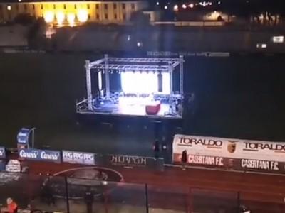 VIDEO. Presentazione nuovo stadio di Caserta. Il messaggio dell'ex Casertana Mancosu