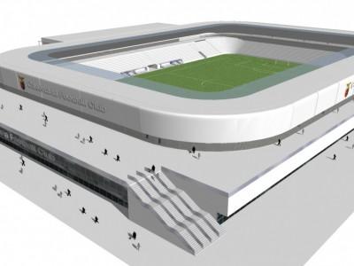 VIDEO. CE. Presentazione nuovo stadio di calcio. Al termine dei lavori impianto da 16mila posti