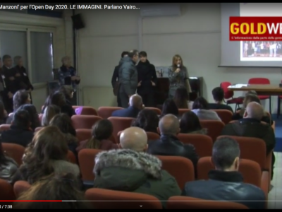 VIDEO. CE. SOLD OUT al 'Manzoni' per l'Open Day 2020. LE IMMAGINI. Parlano Vairo, Farina, Negri e De Rosa