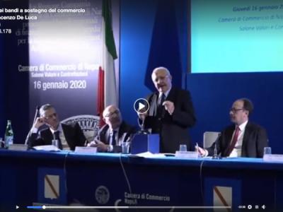VIDEO. Pres. De Luca: