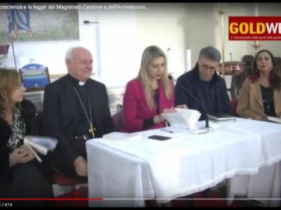 VIDEO. CE. Pres. libro 'La coscienza e la legge' del Magistrato Cantone e dell'Arcivescovo Paglia. Parlano il giudice, Vairo e Serpico