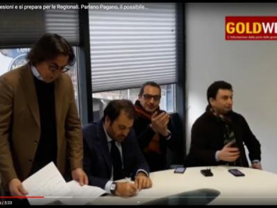 VIDEO. CE. FDI strappa adesioni e si prepara per le Regionali. Parlano Pagano, il possibile candidato Cangiano e G. Bove