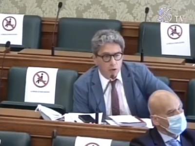 VIDEO. Commissione Trasporti al Senato. L'intervento di Agostino Santillo
