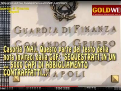 VIDEO. Casoria. GdF: