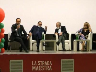 Video. Ce al voto. Mastella e Iodice fanno l'in bocca al lupo a Marino e ai candidati di 'Noi Campani'. La conferenza