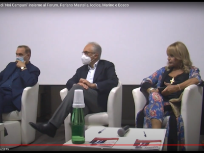 Video. Ce al voto. Le liste di 'Noi Campani' insieme al Forum. Parlano Mastella, Iodice, Marino e Bosco